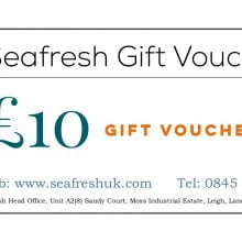 SEAFRESH £10 GIFT VOUCHER