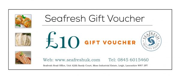 Buy SEAFRESH £10 GIFT VOUCHER online