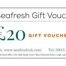 SEAFRESH £20 GIFT VOUCHER