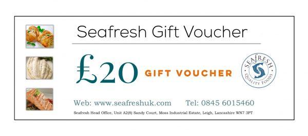Buy SEAFRESH £20 GIFT VOUCHER online