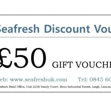 SEAFRESH £50 GIFT VOUCHER