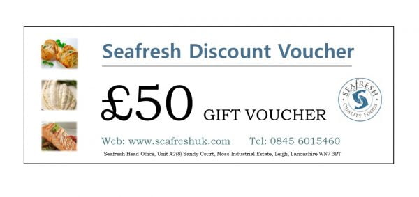 Buy SEAFRESH £50 GIFT VOUCHER online