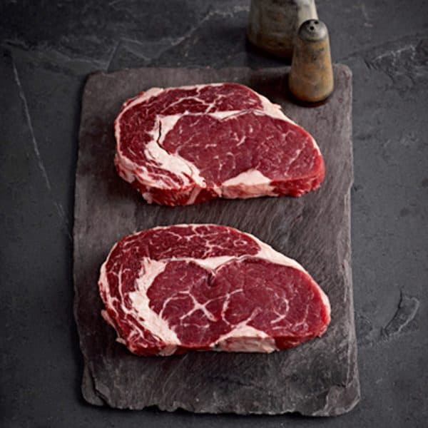 Buy Beef Steak Rib Eye 4 x 8oz online