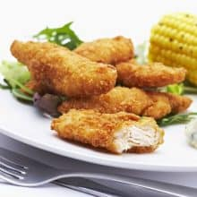 Breaded Chicken Goujons (GF) - 900g