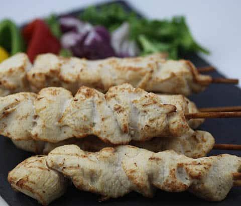 Buy Chicken Kebabs (cooked) - 10 online
