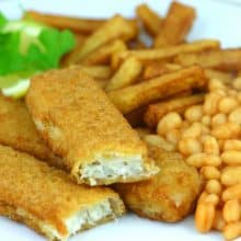 Cod Battered Jumbo Fish Fingers (70g) - 15