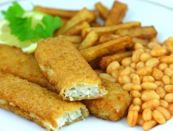 Buy Cod Battered Jumbo Fish Fingers (70g) - 15 online