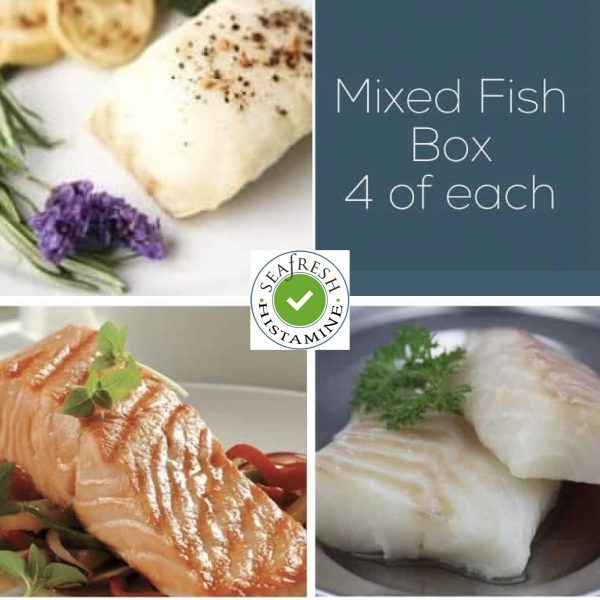 Buy Cod, Salmon & Haddock Fish Box - 12 portions online