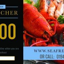 SEAFRESH £10 GIFT VOUCHER