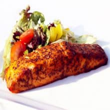 Mint Marinaded Salmon - 4