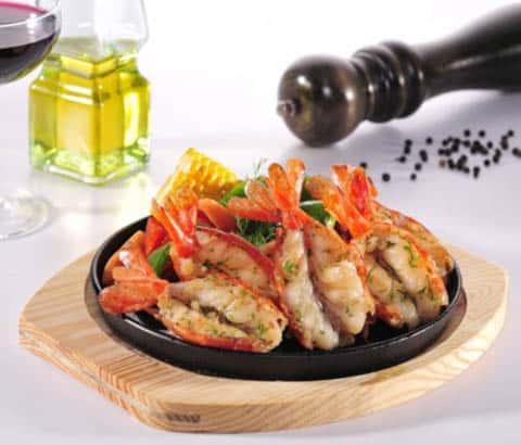 Buy King Prawns in Garlic - 750g online