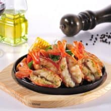 King Prawns in Garlic - 750g