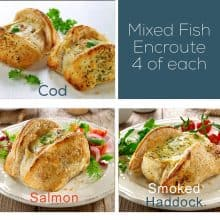 Mixed Fish en Croute - 12