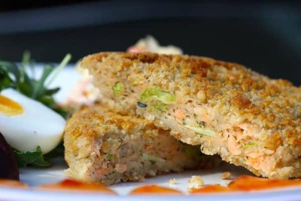 Buy Salmon & Broccoli Crispbake (Shanties) - 6 online