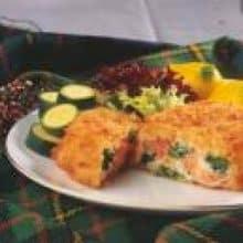 Salmon & Broccoli Crispbake (Shanties) - 6