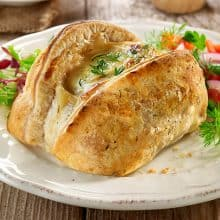 Salmon en Croute - Salmon in puff pastry x 4