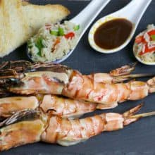 Skewered King Prawns - 800g