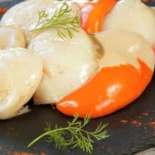 King Scallops ROE ON - 800g