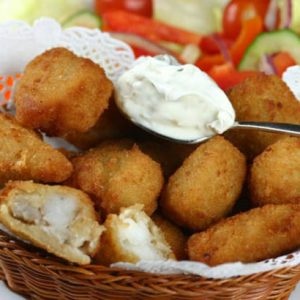 Buy Cod Bacon & Brie Fishcakes - 10 online