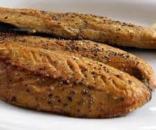 Hot Smoked Pepper Mackerel - 12