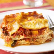 Vegetable Lasagne - 4