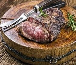 Buy Venison Haunch Steaks - 4 x 125g online