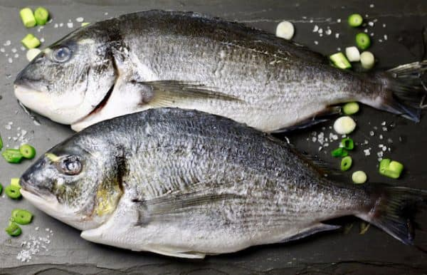 Buy Sea Bream Whole (De-scaled & gutted) x 2 online