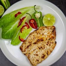 Chicken with Ginger, Chilli & Lime