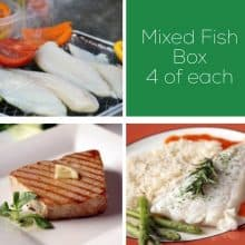 Hake, Tuna & Tilapia Fish Box - 12 portions