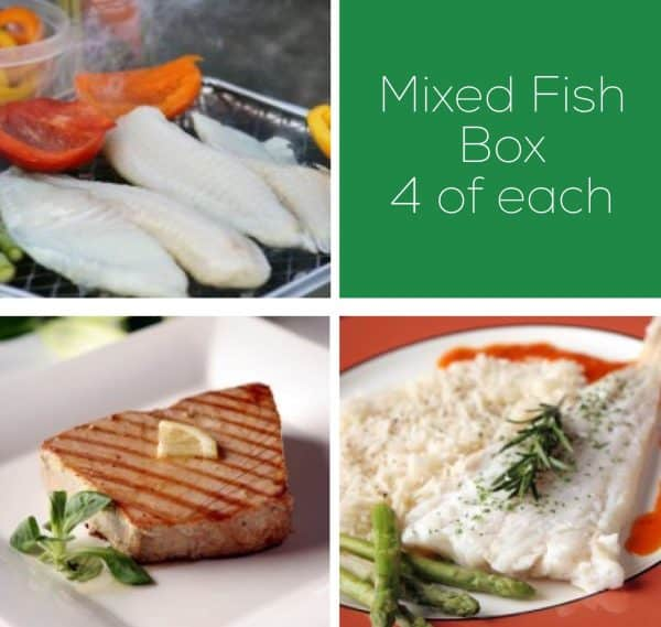 Buy Hake, Tuna & Tilapia Fish Box - 12 portions online