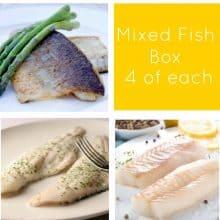 Cod, Seabass & Haddock Fish Box -12 portions