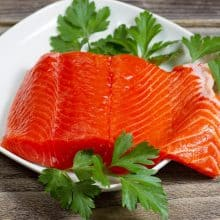 Wild Sockeye Salmon Fillets (4)