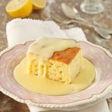 Lemon Sponge Pudding x 4