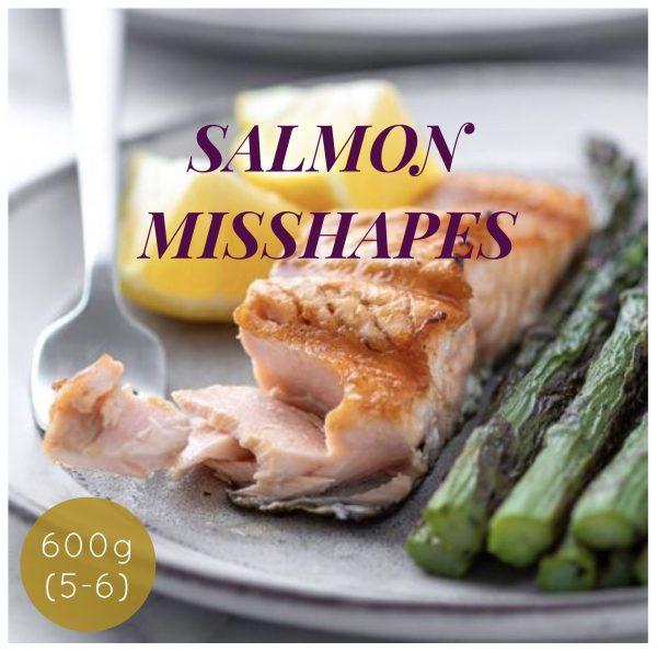 Buy NEW Salmon Misshapes - 600g online