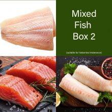 Salmon, Cod & Hake Fish Box   - 12 portions