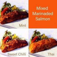 Marinated Salmon Box (12ptns)